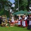 29.08.2010 Dożynki w gminie Konopiska, uroczysta msza św.